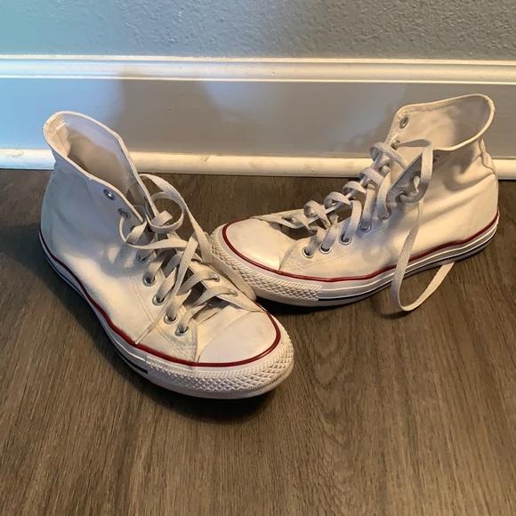 White Converse All Star Chuck Taylor M/W 9.5/11.5